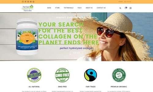 Cultivate Web Design | Harvest Your Online Potential | Portfolio Perfect Supplements Australia