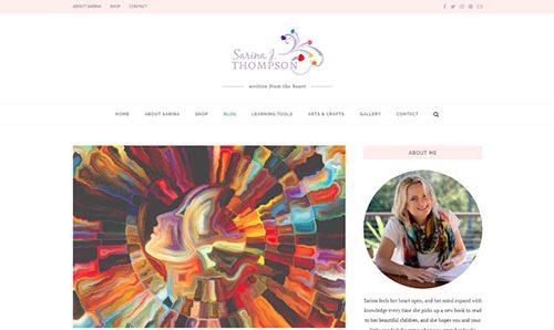 Cultivate Web Design | Harvest Your Online Potential | Portfolio Sarina Thompson