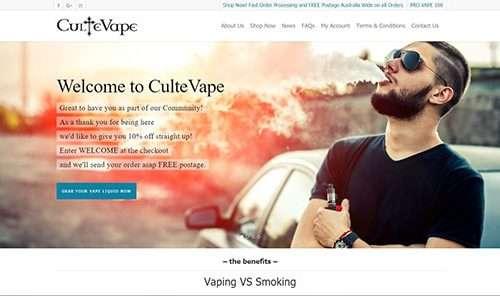 Cultivate Web Design | Harvest Your Online Potential | Portfolio CulteVape
