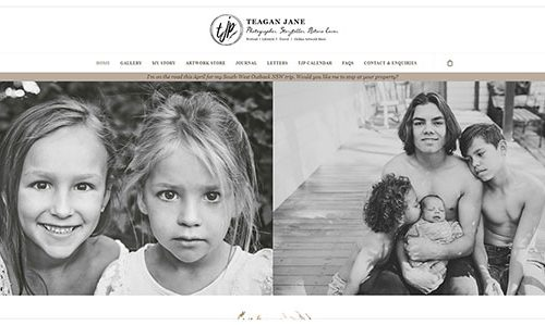 Cultivate Web Design | Harvest Your Online Potential | Portfolio Teagan Jane