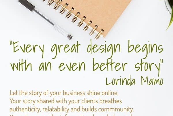 Business Story | Cultivate Web Design | Harvest Your Online Potential | What's Your Story?