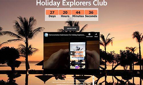 Holiday Explorers Club | Cultivate Web Design | Harvest Your Online Potential