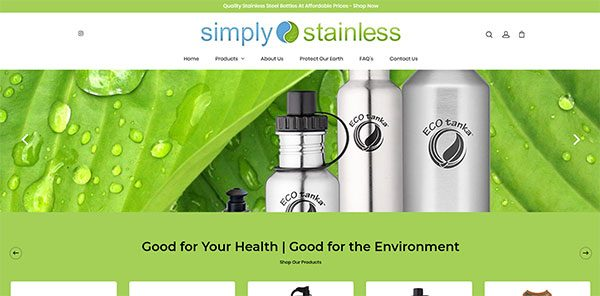 Simply Stainless | Cultivate Web Design | Harvest Your Online Potential