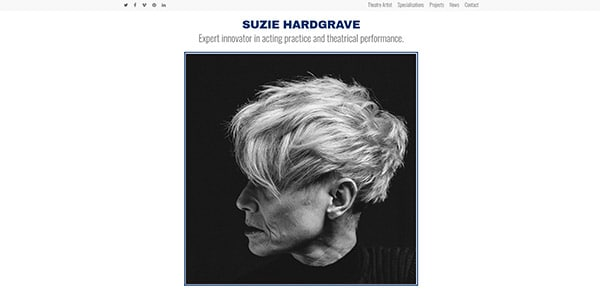 Portfolio Suzie Hardgrave | Cultivate Web Design | Harvest Your Online Potential