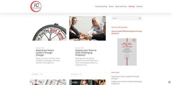 Incite Coaching Articles | Cultivate Web Design | Harvest Your Online Potential
