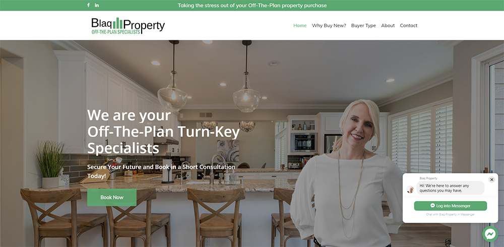 Blaq Property | Cultivate Web Design | Harvesting Your Online Potential