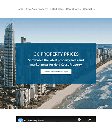 GC Property Prices | Cultivate Web Design | Harvesting Your Online Potential