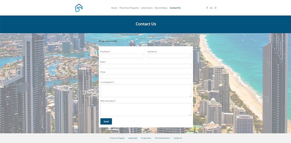 GC Property Prices Contact Us | Cultivate Web Design | Harvesting Your Online Potential
