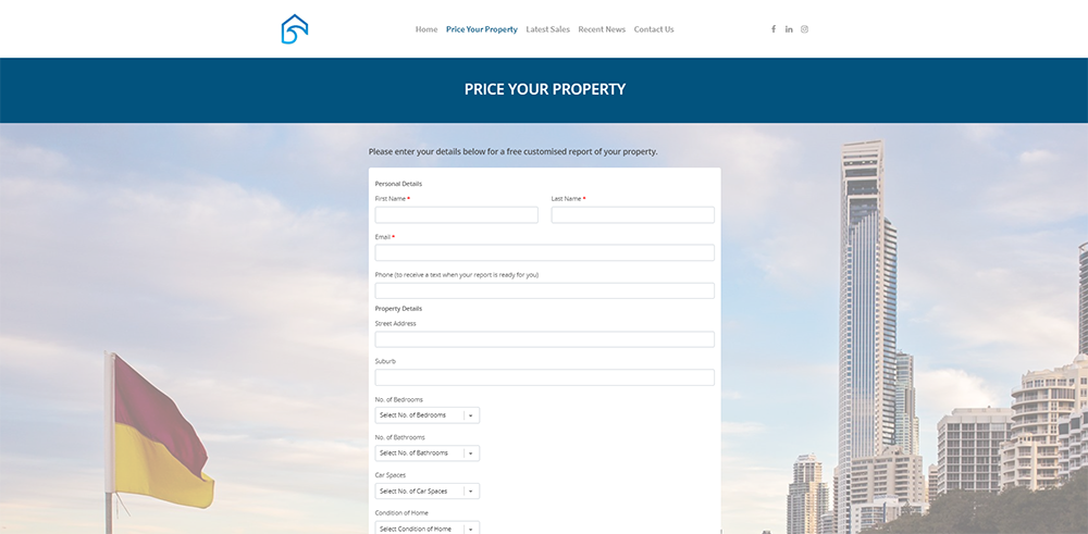 GC Property Prices Property Report | Cultivate Web Design | Harvesting Your Online Potential