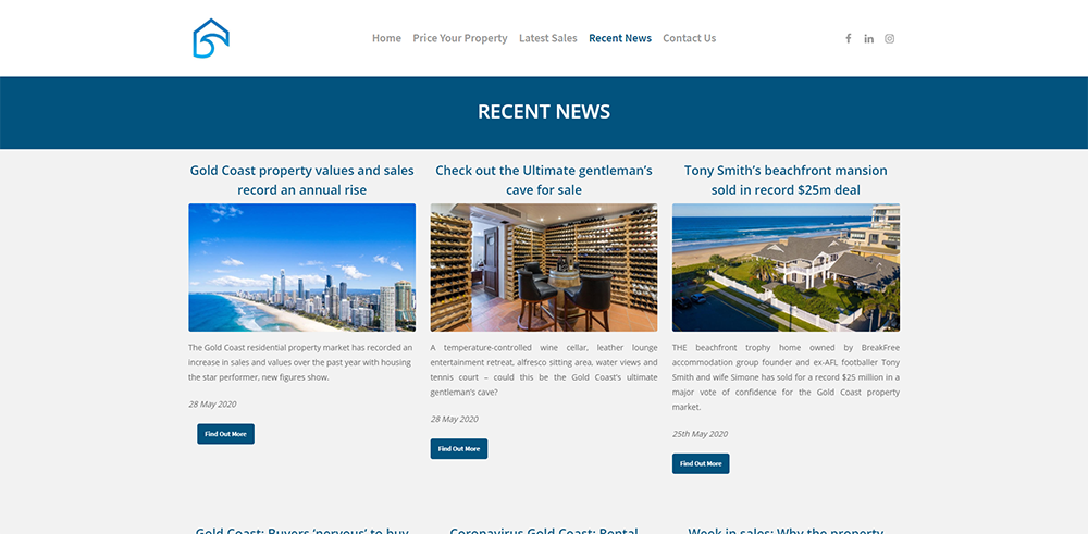 GC Property Prices Recent News | Cultivate Web Design | Harvesting Your Online Potential