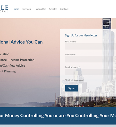 Haile Financial | Cultivate Web Design | Harvest Your Online Potential