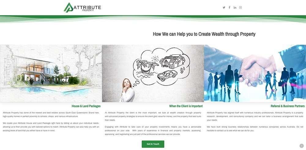 Attribute Property How | Cultivate Web Design